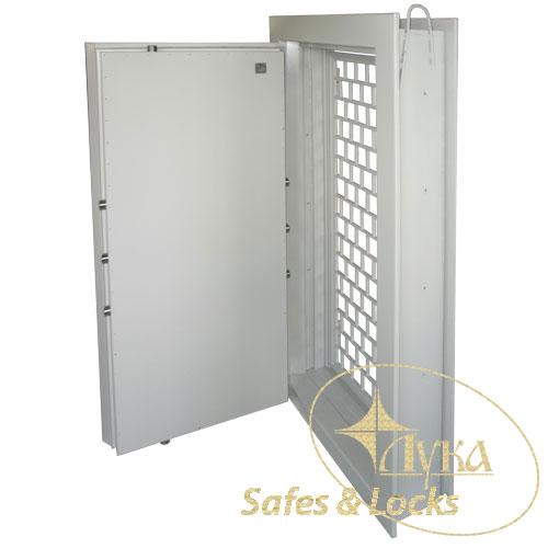 Двери для хранилищ и убежищ, сейфовых комнат
